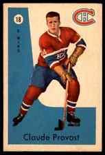 1959-60 PARKHURST CLAUDE PROVOST MONTREAL CANADIENS #18