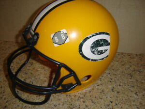 Child Toy Franklin Green Bay Packers Youth Size Football Helmet For Costume   BB