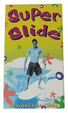 SUPER SLIDE BEYOND THE GLIDE Vtg 90s Surf Movie VHS VIDEO Joel Tudor Longboard