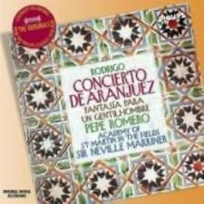 CD Concierto De Aranjuez Fantasia Para Gentilhombre Rodrigo Romero AMF