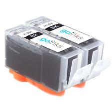 2 Cartucce d'Inchiostro Nero per HP Photosmart 5520 B110c D7560 C309h B109a