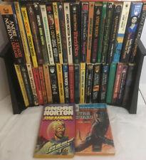 Lot of 43 Andre Norton Paperback Novels - 19 Witch World, 20 Standalones, 2 Sets