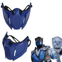 Mortal Kombat11 Sub Zero Cosplay Mask Half Face Helmet Resin Costume Props Adult