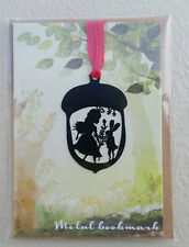 Unique Magical Alice Fairytale Metal Bookmarks  Page Markers Kawaii
