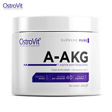 A-AKG - L-arginine Alpha Ketoglutarate 200g - 40 SERVINGS Pre Workout No Booster