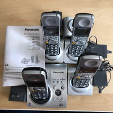 Panasonic DECT 6.0 Cordless Phone Set KX-TG1035 + Answering Machine
