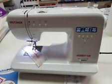 GRITZNER Hobby 140 Freiarm Computer-Nähmaschine mit großem Anschiebetisch