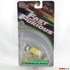 Fast and Furious 1:64 yellow 1995 Volkswagen Jetta Street Tuner series 4 worn