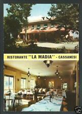 Cassanesi ( Tribogna / Genova ) - Ristorante La Madia -  non viaggiata