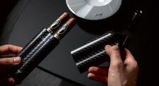 Davidoff Cigar Case Carbon xl-2 Carbon
