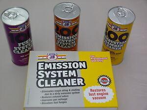 Justic Brothers Emission System Cleaner Kit