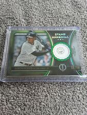 Aaron Hicks Stamp Of Approval Relic 2020 Topps Tribute #'d/99 New York Yankees
