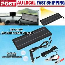 4.5W 12V Solar Panel Kits Solar Portable Trickle Charger for Camping RV Battery