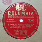 BENNY GOODMAN PEGGY LEE If You Build A Better Mousetrap/Not Mine COLUMBIA EE+/E photo