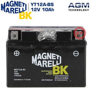 BATTERIA MAGNETI MARELLI YT12A-BS 12V 10Ah HONDA NT V DEAUVILLE 650 1996 1997
