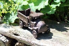 LKW Nostalgie Gusseisen Lastwagen Truck Antikstil Kipper Dekofigur Gartendeko