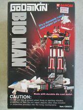 VINTAGE 1984 GODAIKIN BIO MAN 300013 BANDAI BOX AND INSERTS ONLY