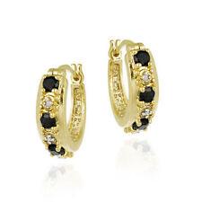 Hoop Sapphire 18k Fashion Earrings