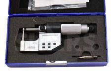 "SHARS 0-1"" Tube Micrometer .00005"" / 0.001mm Graduation NEW"