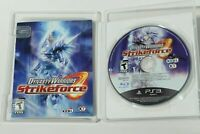 Dynasty Warriors Strikeforce PS3 Complete CIB MINT Disc VERY Fast Ship World!!!