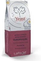 Acido Citrico Monoidrato 1KG - E330 - EUROPEO - Jungbunzlauer -uso alimentare