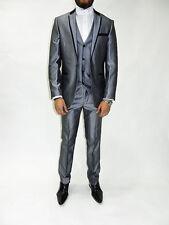 Ein-Knopf-Herrenanzüge-Anzughosen