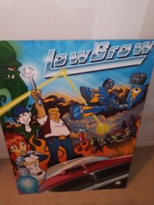 cartoon network posters Megas XLR originally called Low Brow
