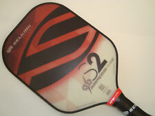 ALL NEW SELKIRK AMPED X5 S2  PICKLEBALL PADDLE FIBER FLEX  RUBY RED