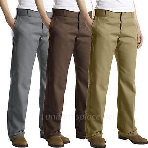 Dickies Pants Womens Original Work Pants FP774 Twill Wrinkle Resistant Colors