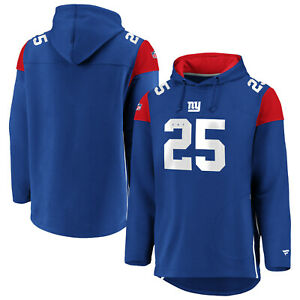 NFL Hoody New York Giants Ny Franchise Overhead Hooded Pullover Sweater Hooded