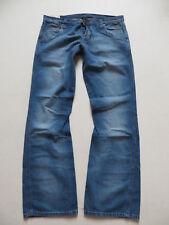 "WRANGLER Sharkey jeans pantaloni, W 33/L 32, NUOVO! ""Ocean Serenade"", X-Low bootcut!"