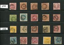 Bayern - Sammlung Mühlradstempel - gMR/ oMR ( 25970 )