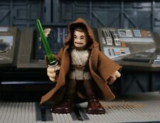 K1111 L Hasbro Playskool Star Wars Jedi Master Qui Gon Jinn Cake Topper Figure
