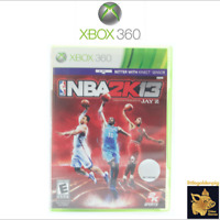 NBA 2K13 (2012) Better with Kinect Xbox 360 Game Case Manual Disc Tested Works