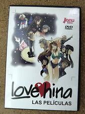 DVD Anime Manga Love Hina Las Peliculas