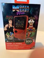 MY ARCADE Pixel Classic Portable Handheld 300 Builtin Video Games+Data East Hits