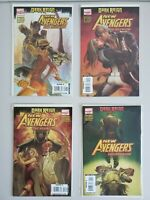 New Avengers Dark Reign The Reunion 1 2 3 4 Marvel 2009 Set Run Lot 1-4 VF/NM