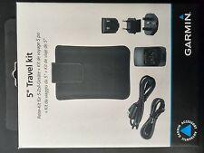 Garmin nüvi Travel Pack Zubehör Set Tasche + Adapter für 5,0 Zoll Display #T2757