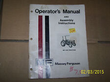 MF MASSEY FERGUSON 230 OPERATORS MANUAL