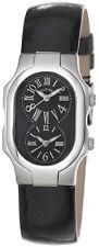 Philip Stein Women's Signature Black Patent Leather Strap Quartz Watch 1MBLB
