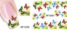 Butterflies 3D Nail Art Sticker Decal Decoration Manicure Water Transfer