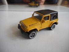 Majorette Jeep Wrangler in Yellow