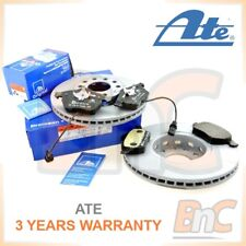 # ATE HEAVY DUTY FRONT BRAKE DISCS & PADS + WEAR SENSOR SET AUDI A6 C5 1.9 TDI