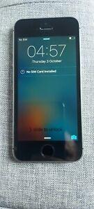 Apple iPhone SE - 16GB - Space Grey  A1723 (CDMA + GSM)