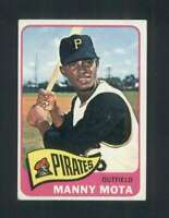 1965 Topps #463 Manny Mota VGEX Pirates 111879