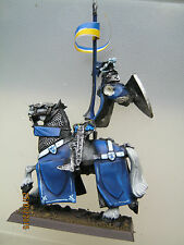 Graal chevalier monté rider breton bretonnian metal figure citadel gw chevaliers # h
