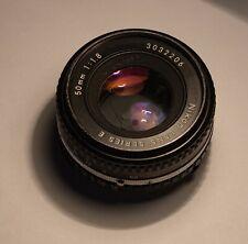 Nikon Series E 50mm f1.8 AIs