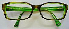 Coach Hc6040 Brooklyn 5117 Tortoise / Green Eyeglass Frames Used