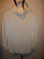LONGPULLOVER Pullover - Stehkragen - weiß - * ESPRIT * - Gr. S