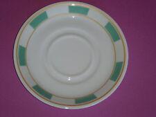 Assiette coupelle GALERIE ROYALE vert amande porcelaine BERNARDAUD Limoges NEUVE